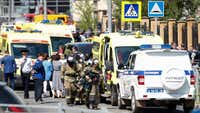 At least nine, including seven students, killed in Russia school shooting
