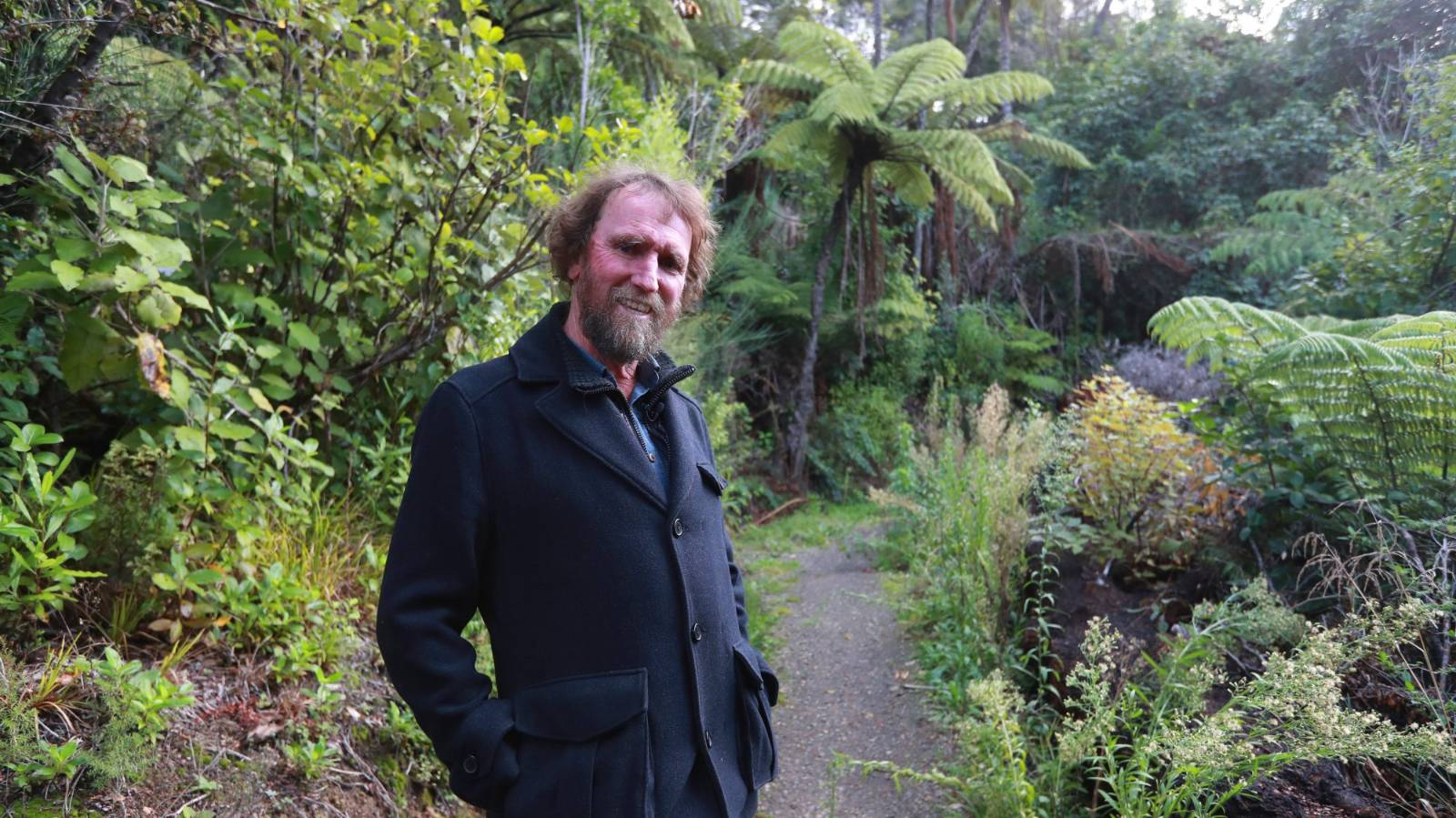 The engineer's son who became an artist and built a path through the bush
