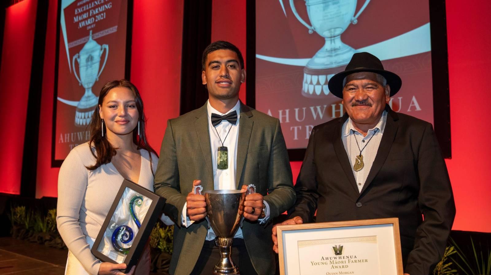 Whakatāne young farmer takes award