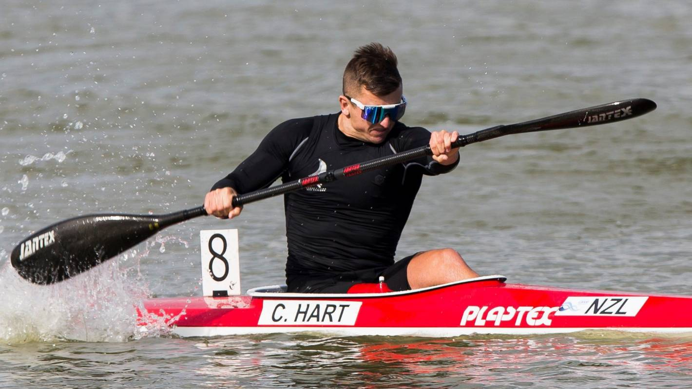 Kiwi kayaker Corbin Hart qualifies for Paralympics at his first international regatta