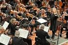 Holly Mathieson conducting the NZSO at the MIchael Fowler Centre in Wellington on May 14 for the concert Fantastique
