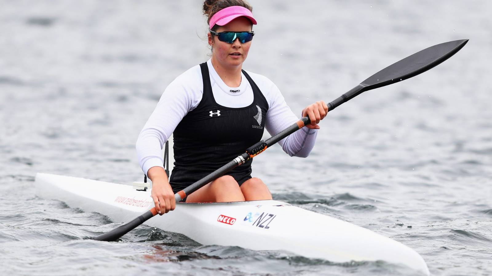 False start denies Olympic paddler Aimee Fisher a shot at national K1 200m title
