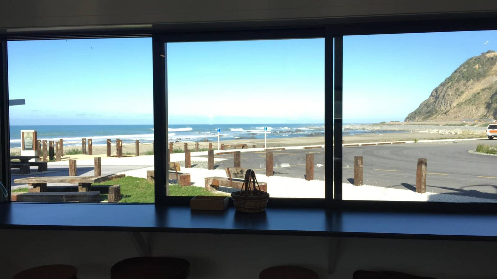 Dolphins at lunch: Is this NZ's best cafe view?