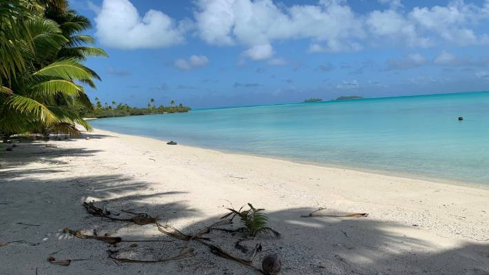 There are only two flights to Rarotonga a week, but that will gradually increase as demand ramps up.