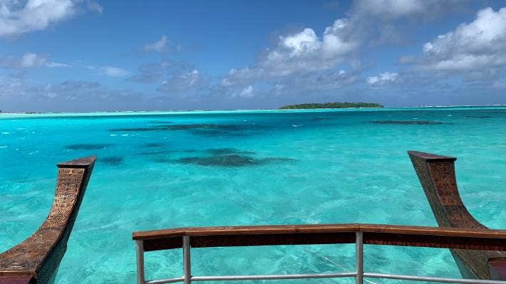Aitutaki Island is one of the Cook Islands' most popular destinations because of its turquoise lagoon waters.