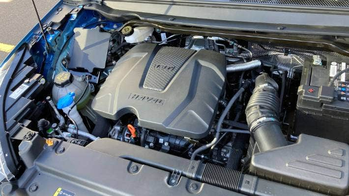 The Jolion misses out on a newer engine, making do with the H2's old 1.5-litre turbocharged inline-four.