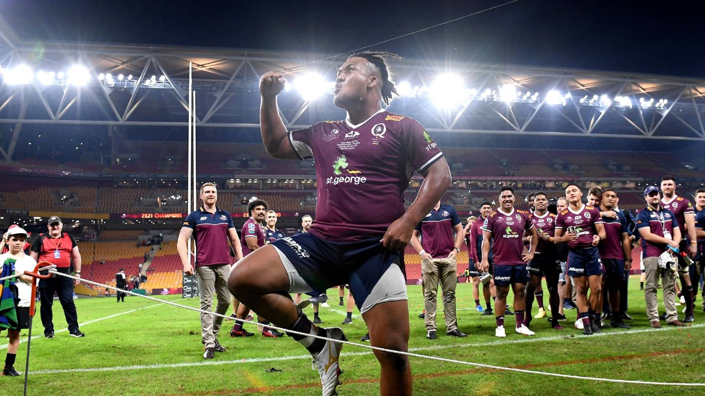 Super Rugby: Wallabies hooker determined to bow out with win over boyhood idols Blues