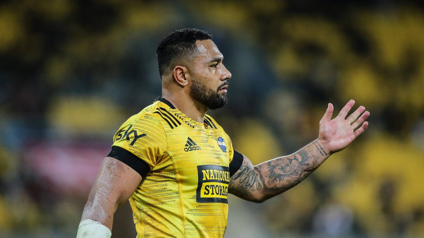 'Pretty disappointing': Ngani Laumape says NZ Rugby pay cut decided his Hurricanes exit