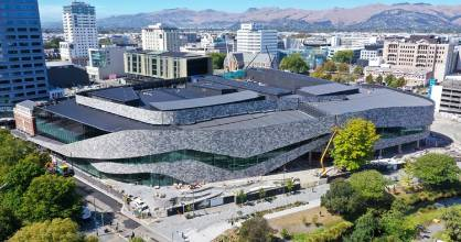 Te Pae Christchurch Convention Centre is due to open for business in late October.