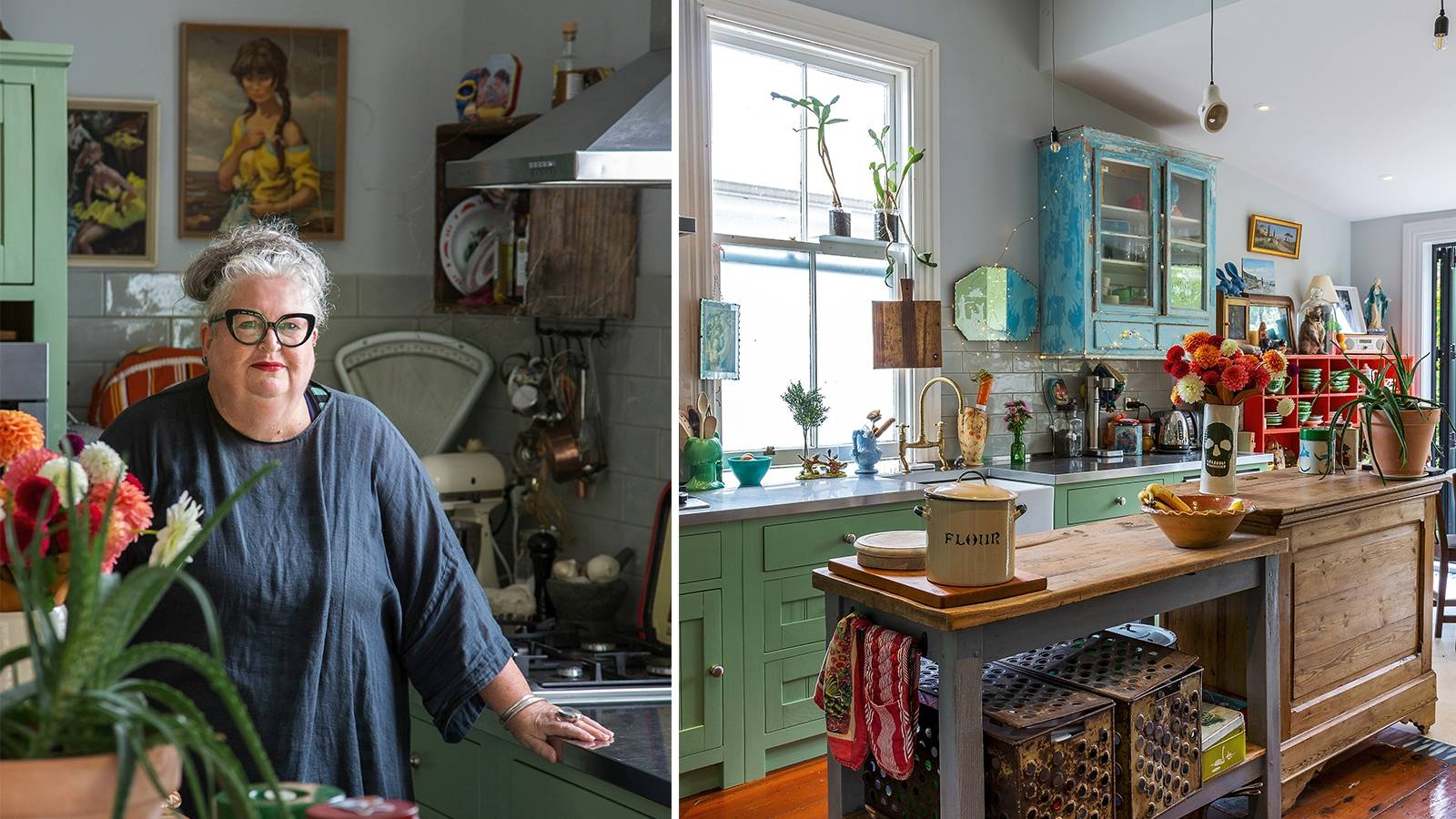 Treasure-filled Wellington villa brimming with colour and quirk