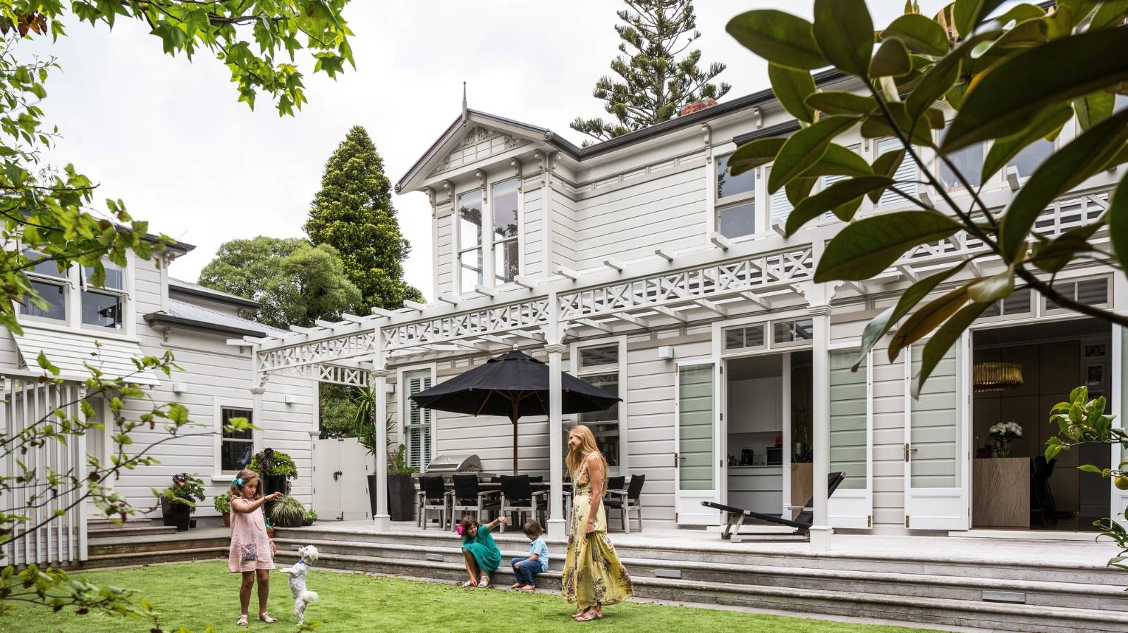 Landmark Wellington home now shines with glamour and grace