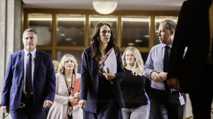 Prime Minister Jacinda Ardern told media on Tuesday the Government wasn't in a position to give a 17 per cent increase to nurses.