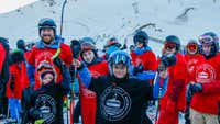 Record number of skiers flock to Mt Hutt for 'bluebird' opening day