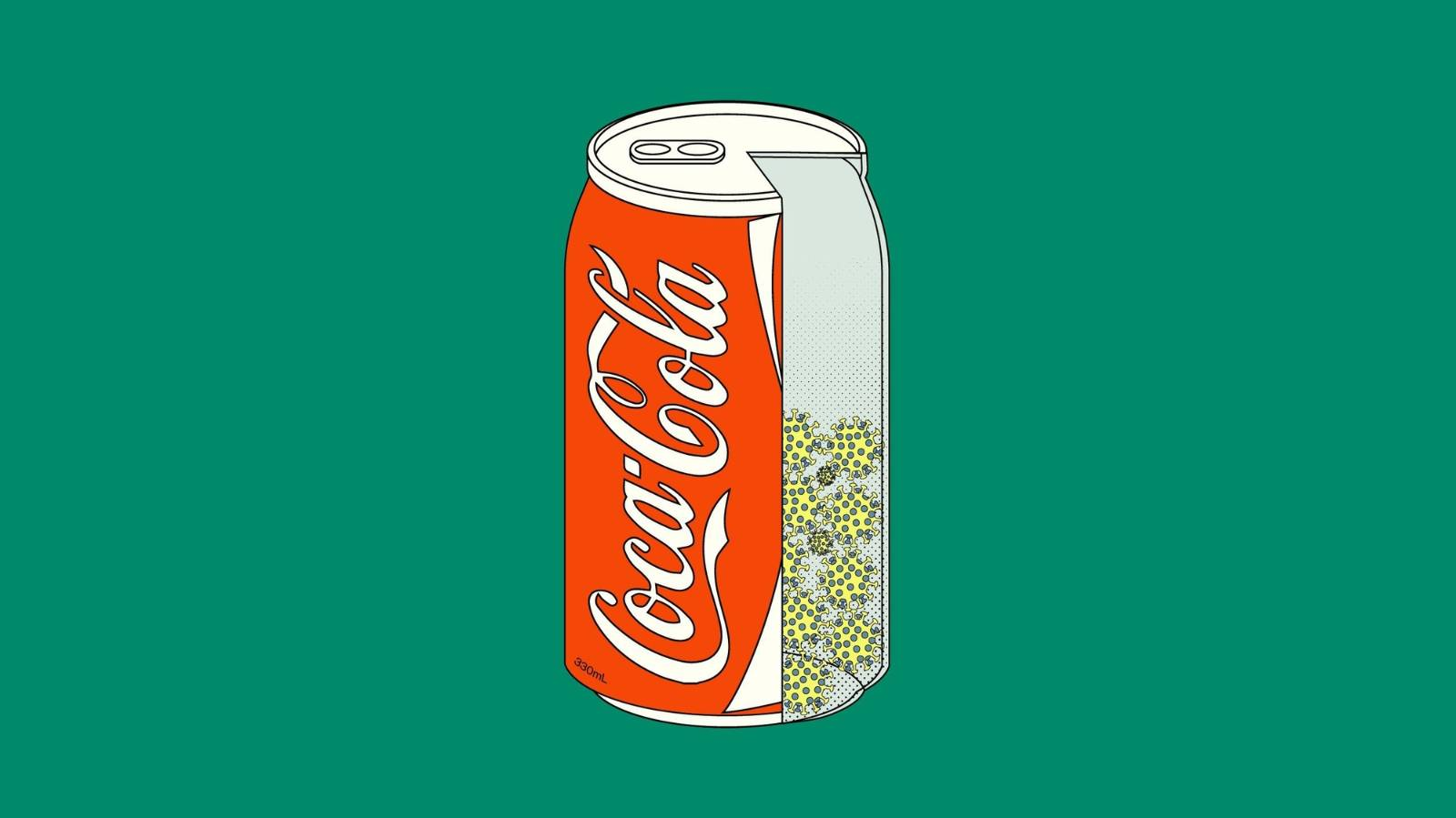 What glitter and a can of Coke have to do with Covid-19 in New Zealand