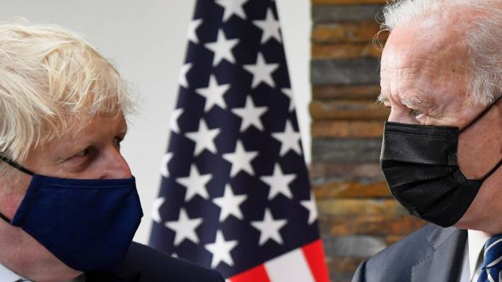 British Prime Minister Boris Johnson and US President Joe Biden have committed to providing hundreds of millions of vaccine doses for in-need countries.