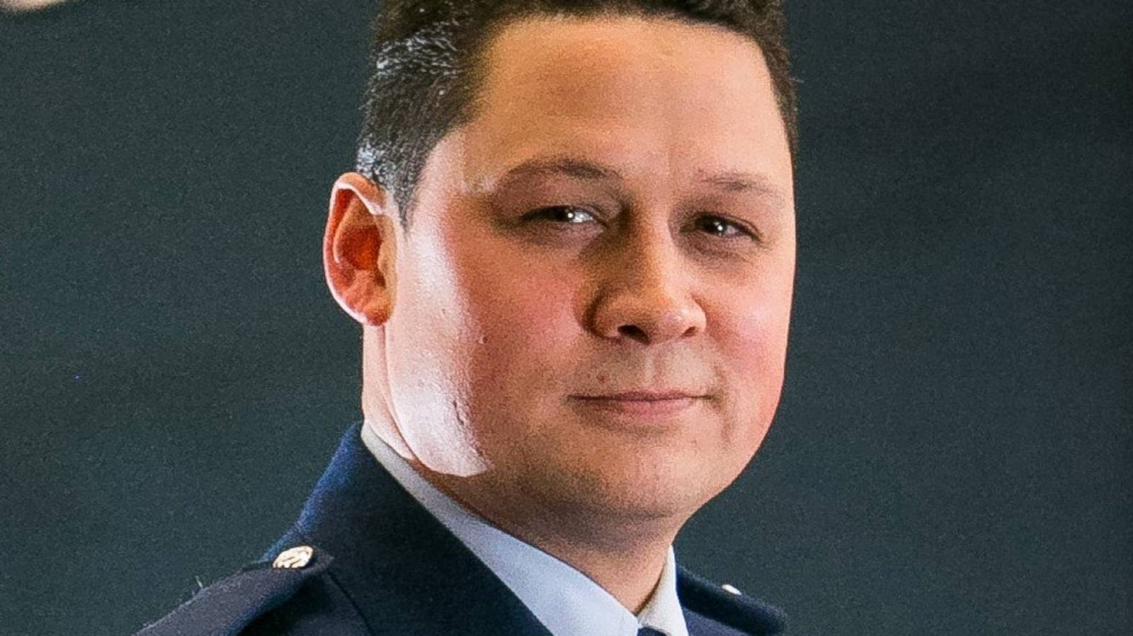 Police officer climbed into ex-partner's property