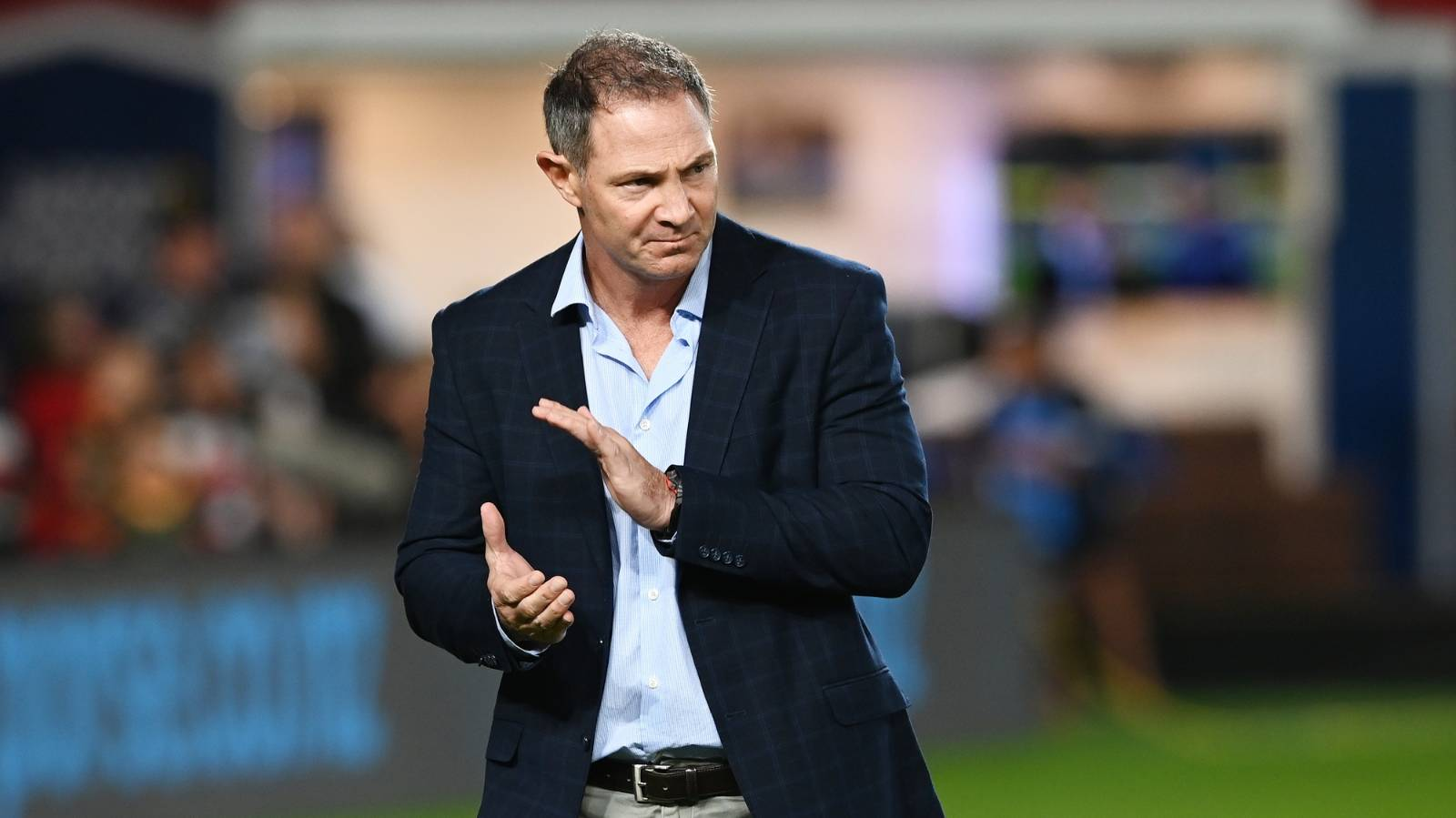 Leon MacDonald wary of 'scary' Highlanders as Blues chase first title in 18 years