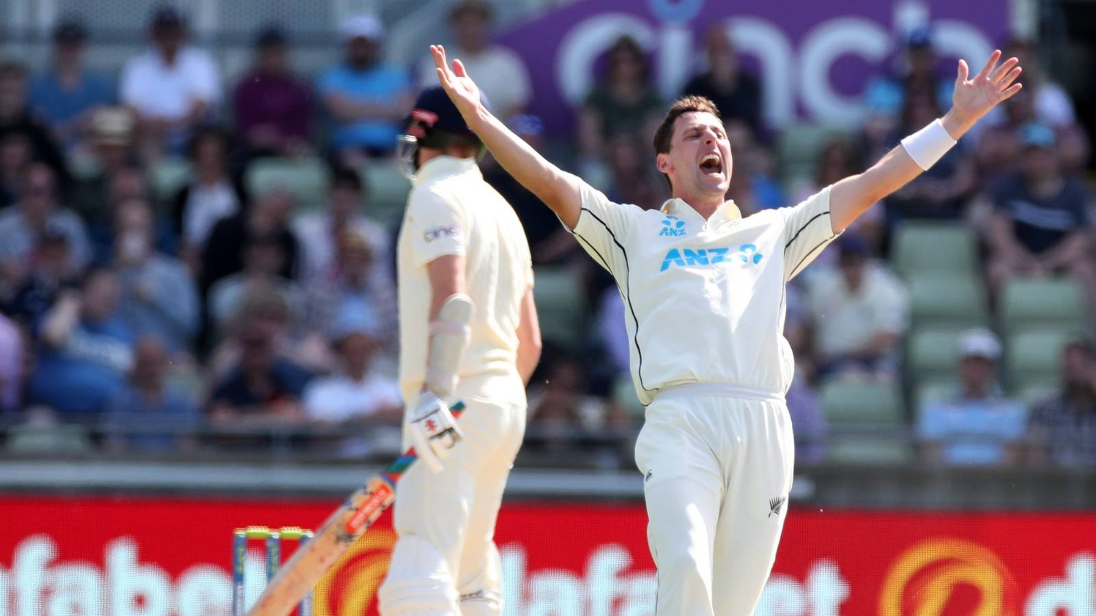 Black Caps on verge of series win over England