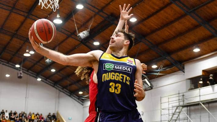 Sam Timmins has been stuffing the statsheet for the Otago Nuggets in the Sal's NBL in 2021.
