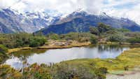 Routeburn: A 'princess' swaps high heels for hiking boots