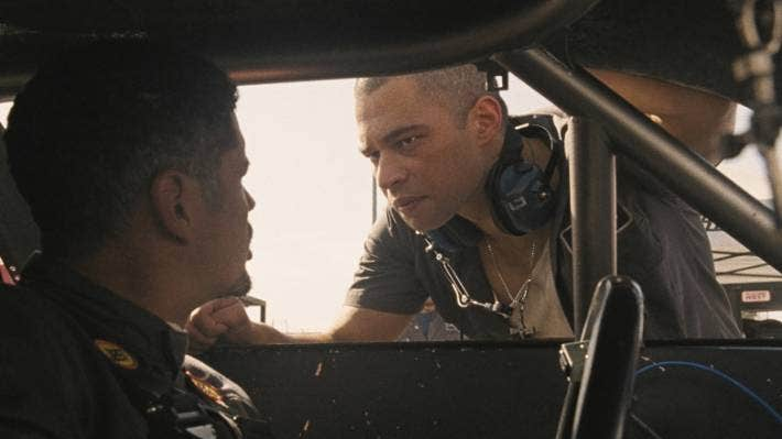 Vinnie Bennett in Fast and Furious 9.