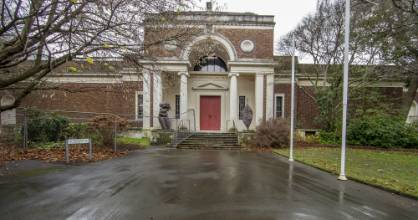 Robert McDougall Art Gallery in Christchurch's Botanic Gardens has been largely empty since 2002 and was closed ...