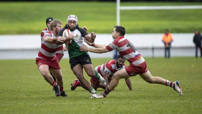 Kasi Sami came off the bench to impress in Marist's 38-17 victory over Waimea Old Boys.