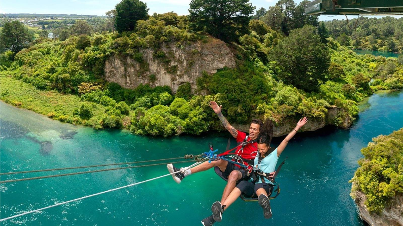 Travel offers of the week: Swing over the Waikato River