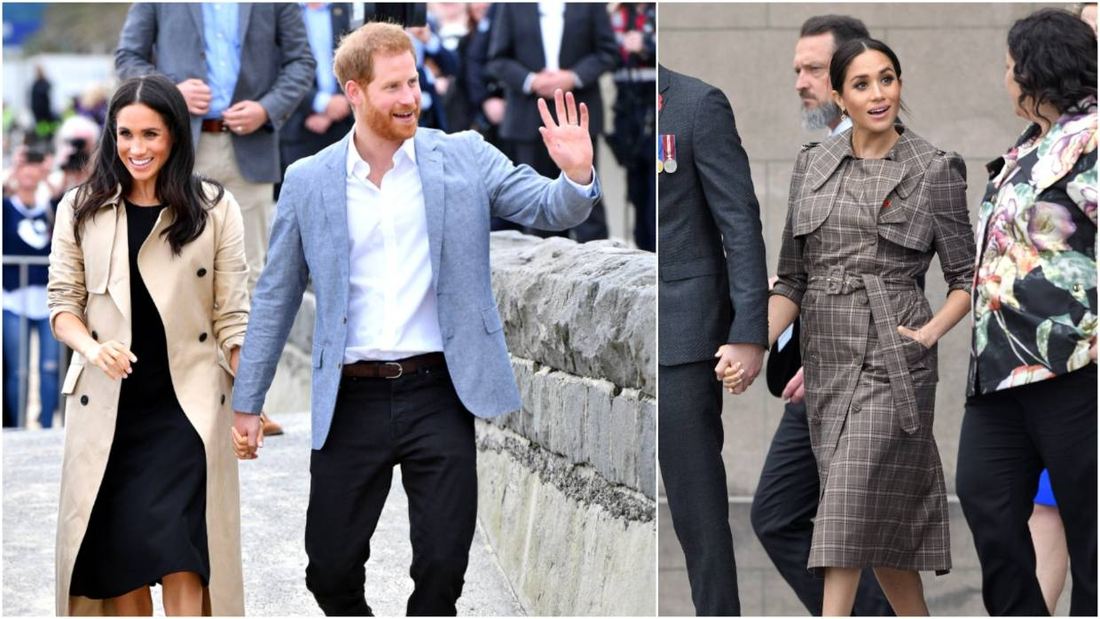 Meghan Markle and Prince Harry | Trench Coats