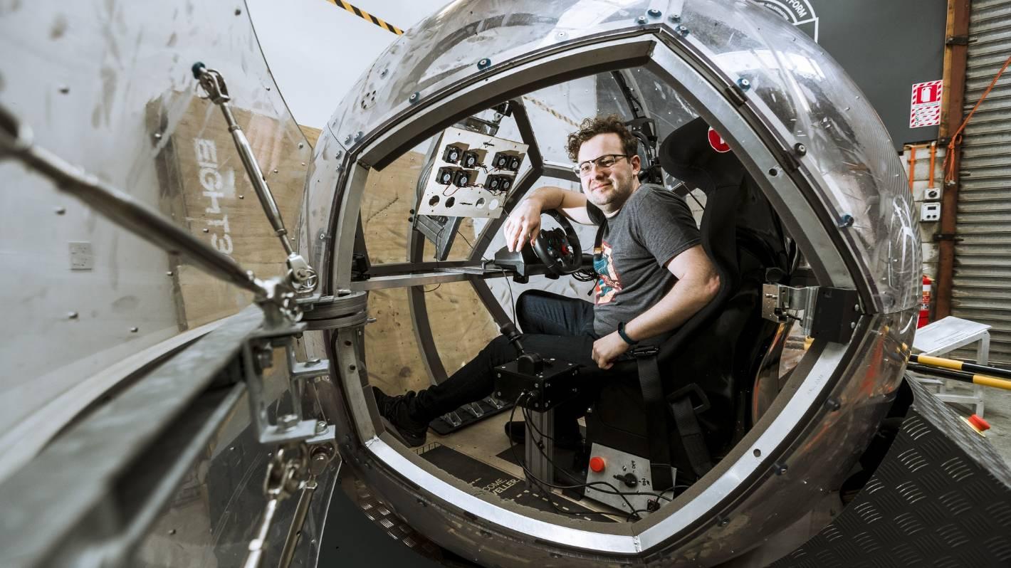 stuff.co.nz - World-class Wellington: Virtual reality company Eight360 takes vehicle training simulator to overseas markets