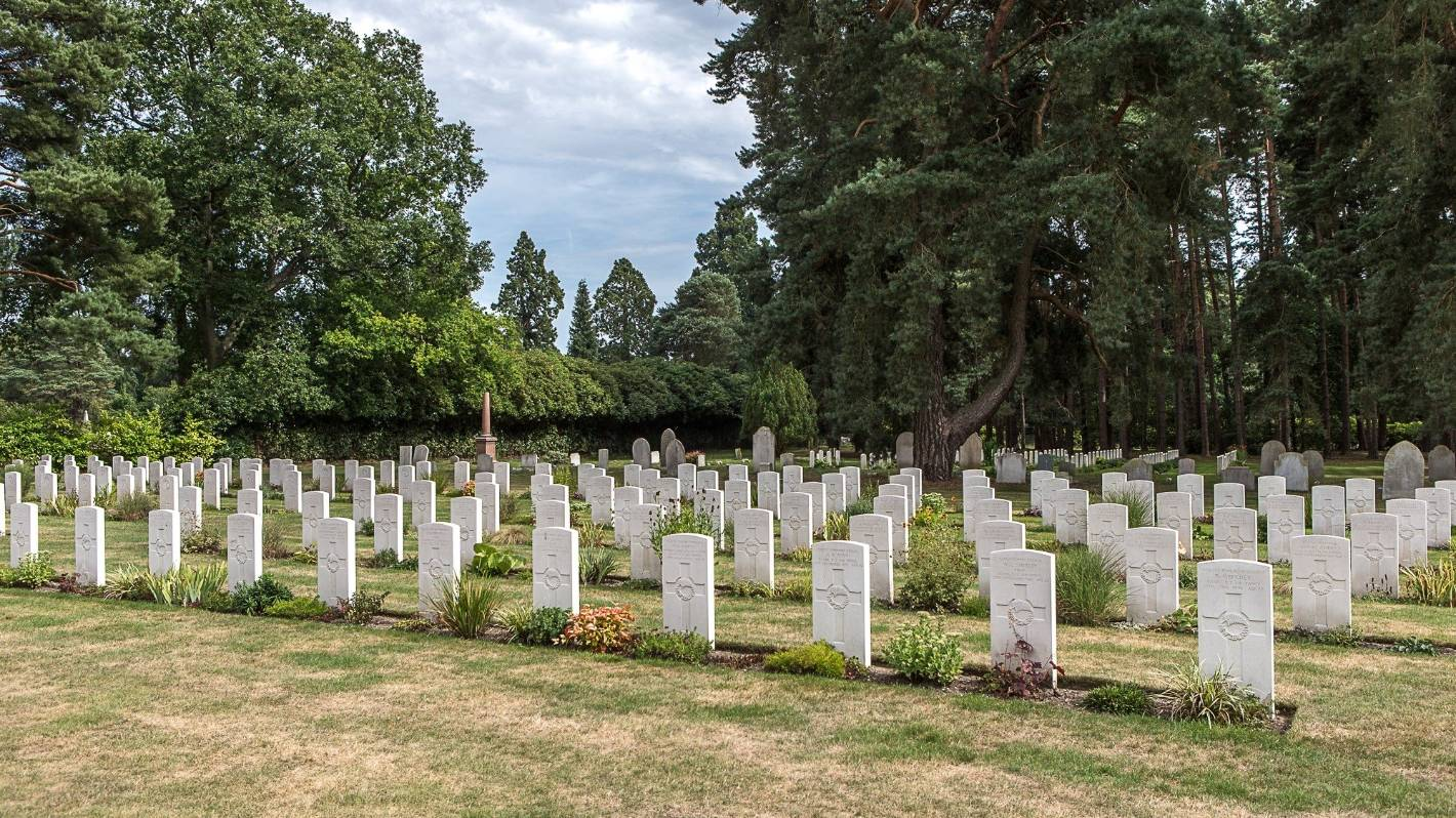 A wish to see fiance's overseas war grave sparked a mission to document every one