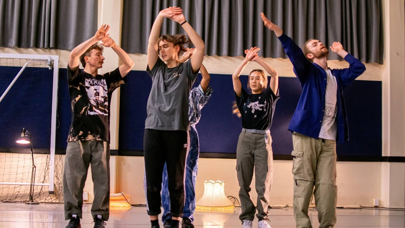 Pulling the curtains back on dance and creating live performances