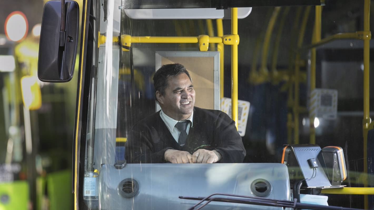 A day in the life of a Wellington bus driver