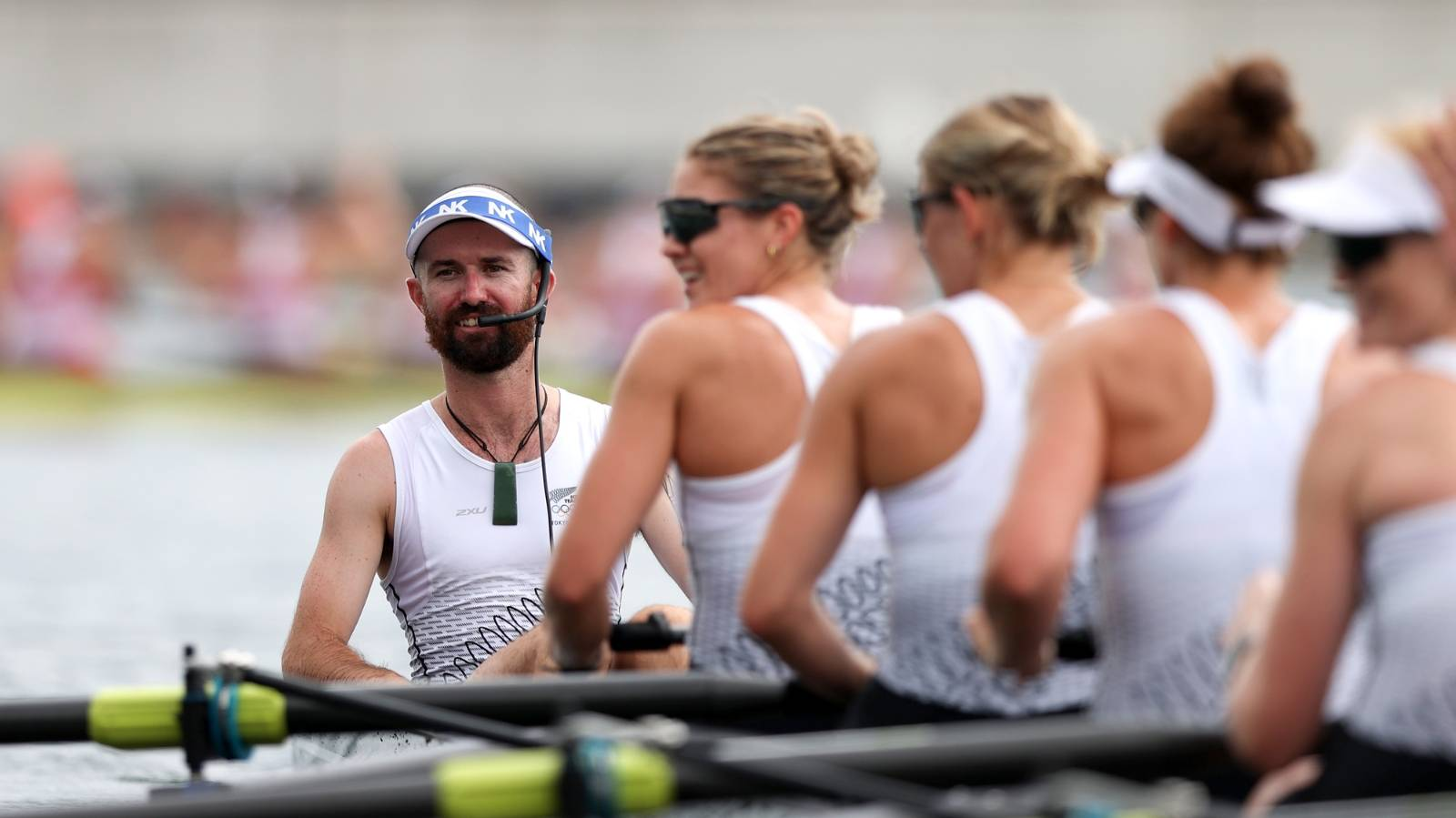 Caleb Shepherd: A man winning silver in a woman's world