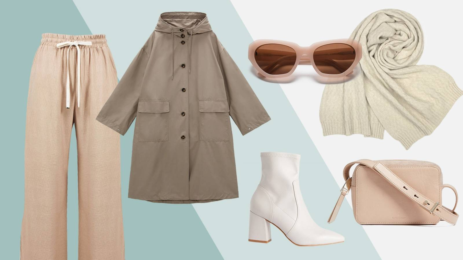 How to pull off a top-to-toe outfit in shades of pale