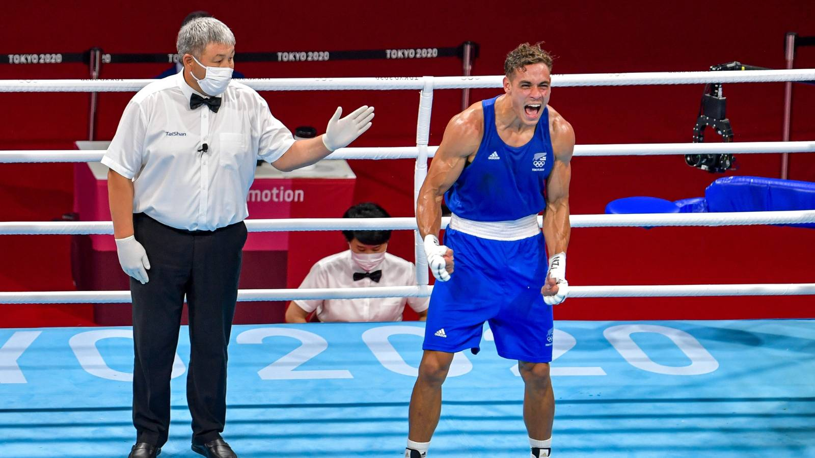 Nyika assured of Olympic medal after beating Belarusian