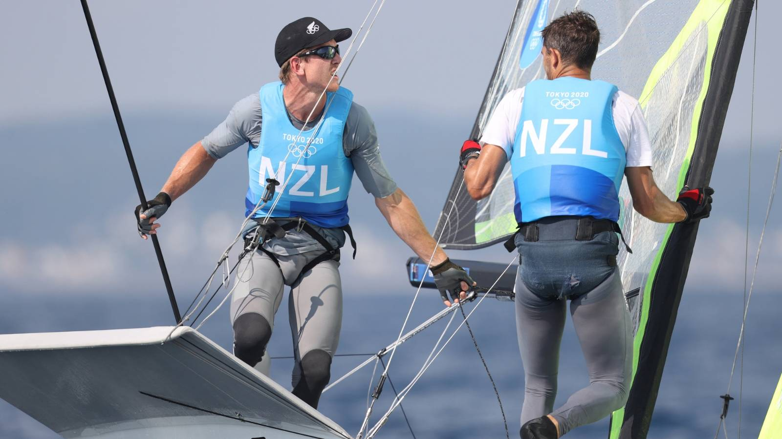 Burling and Tuke move into gold medal position