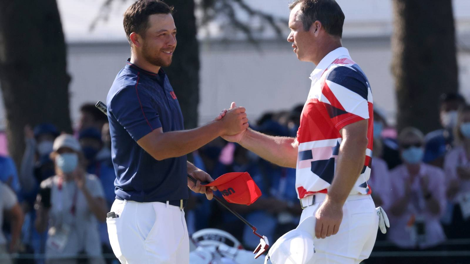 Xander Schauffele wins Olympic gold, bronze decided in seven-way playoff