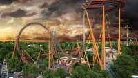 Would you ride on the world's steepest dive roller coaster?