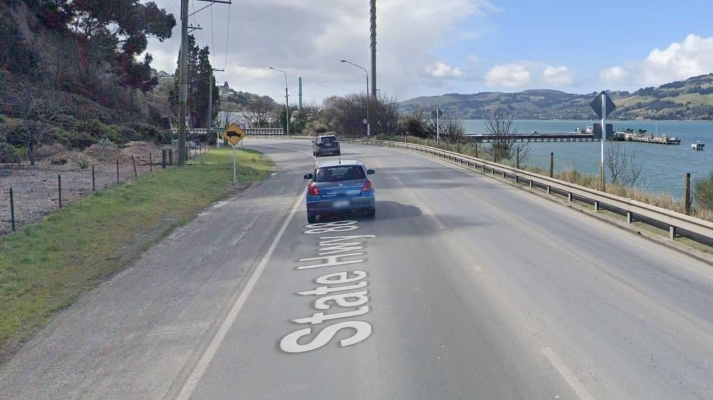 One dead after barrier crash on Dunedin highway