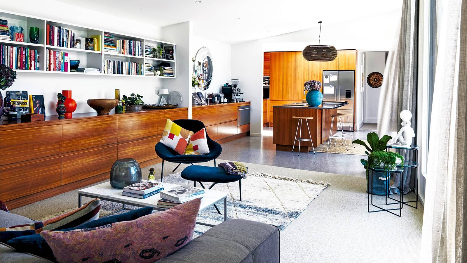 Auckland homeowners get their mid-century groove on