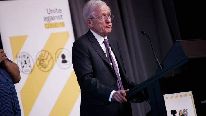 Sir David Skegg heads the Strategic Covid-19 Public Health Advisory Group and has counselled the Government on how to re-open after the pandemic.