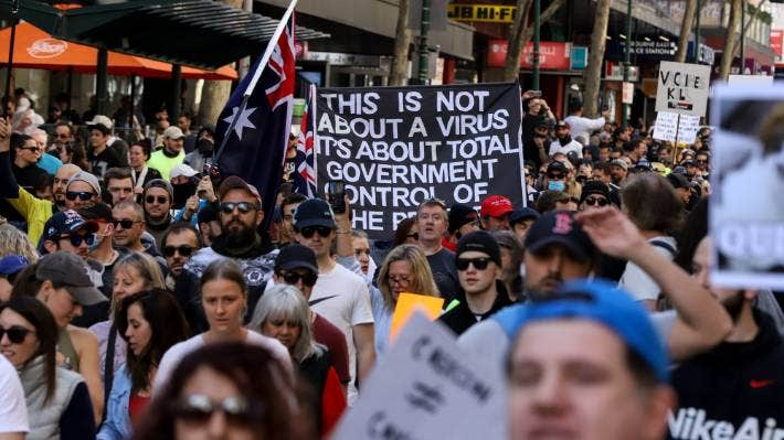 COVID-19: Melbourne protest against lockdown could add to rising cases in  Victoria – Lesotho News