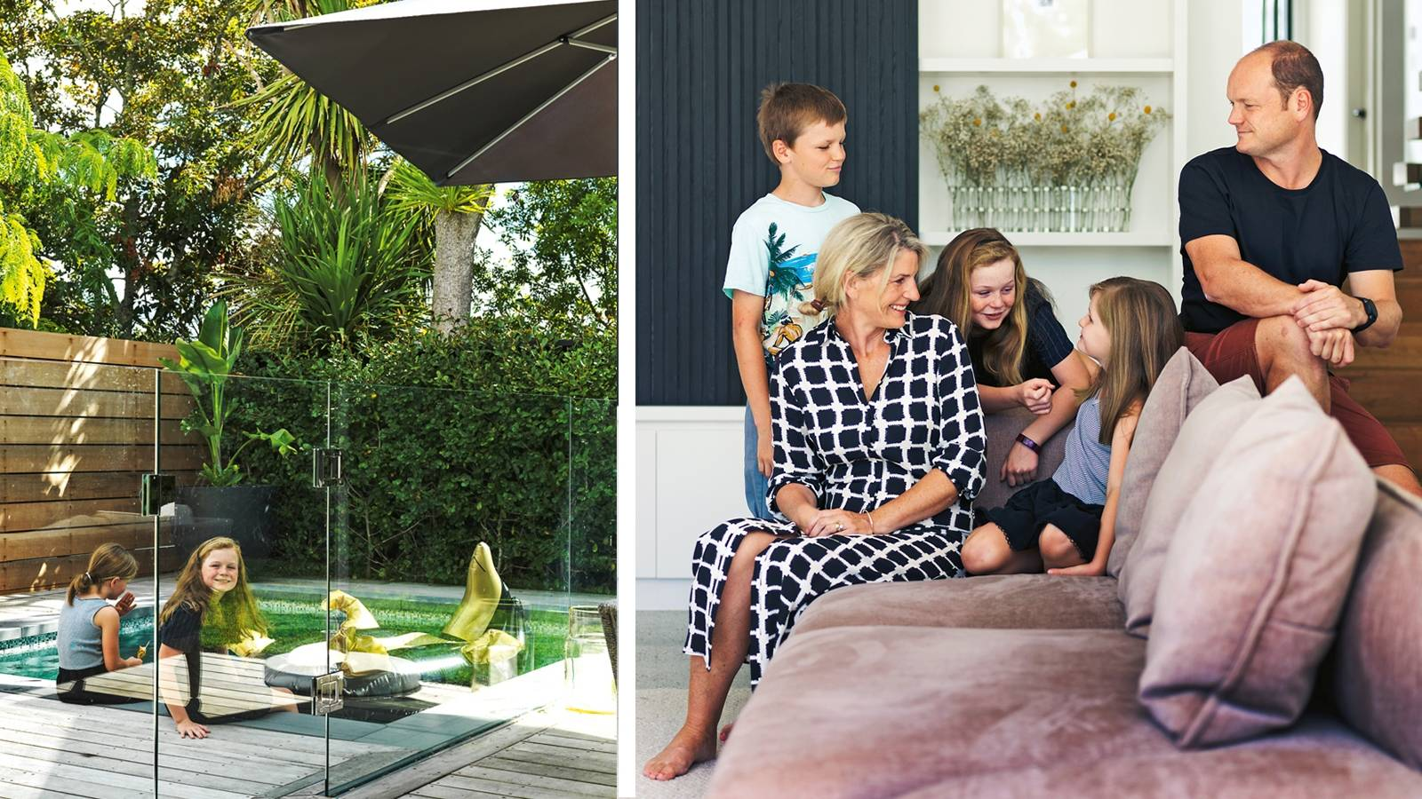 How to fit a family of five on a tiny Auckland site