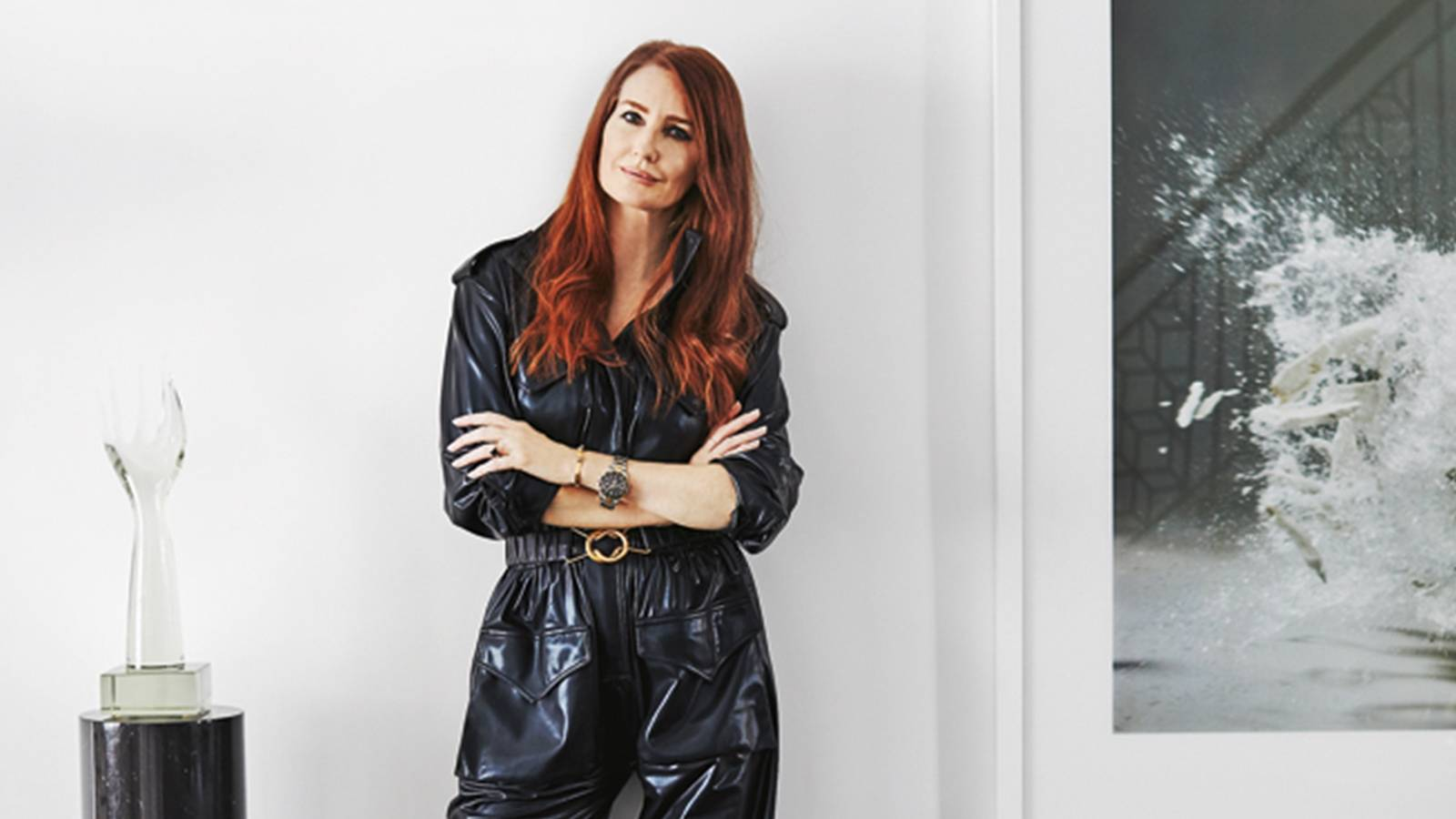 See inside expat model-turned-stylist Angela Radcliffe's UK home