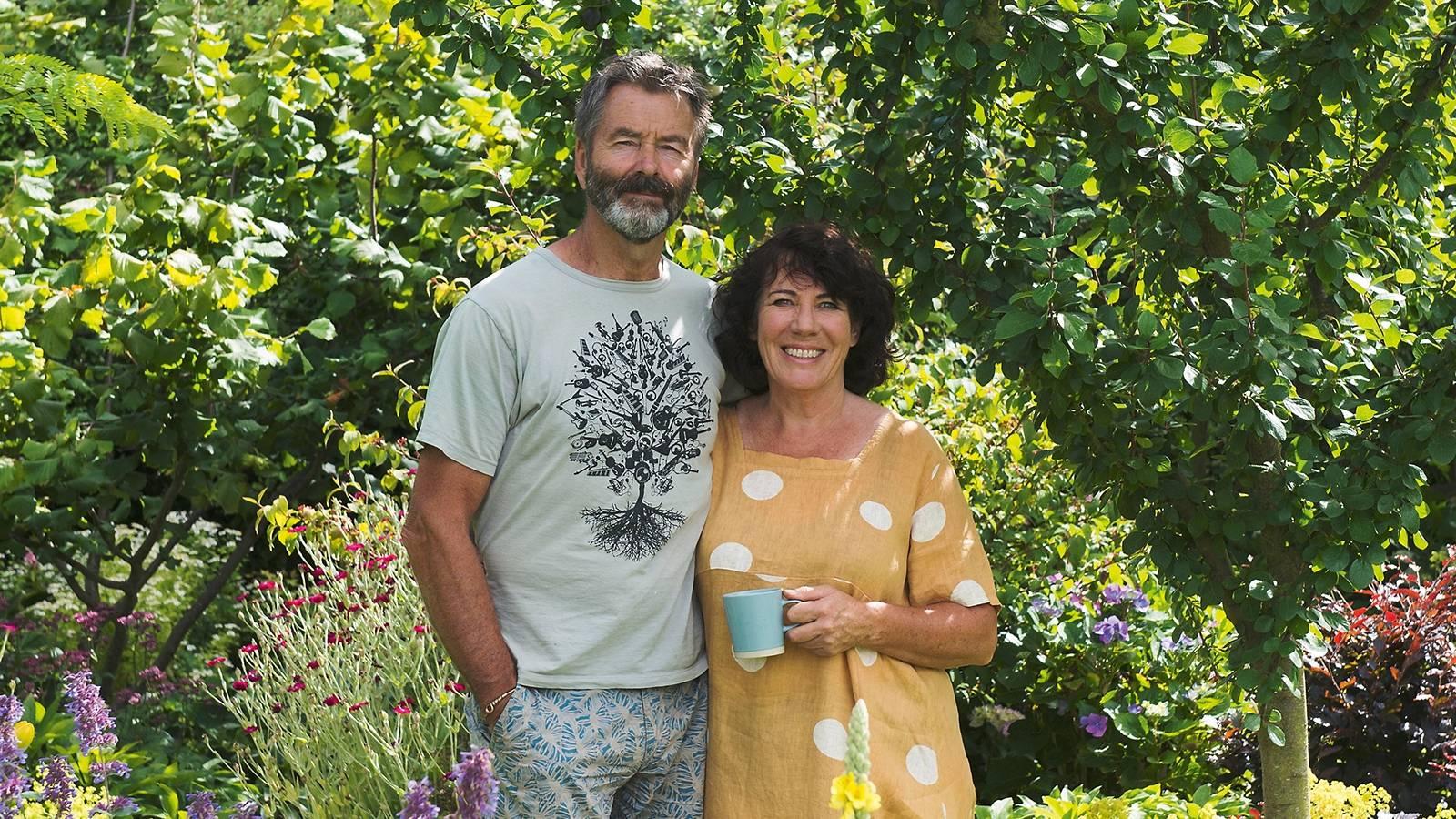 Illustrator Jenny Cooper turns blank canvas into flourishing garden