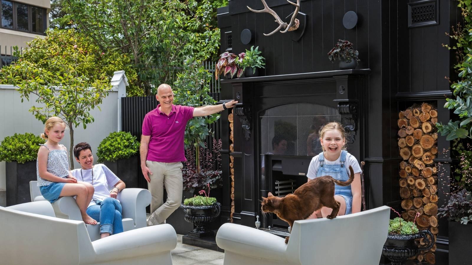Shabby Wellington villa gets the designer treatment