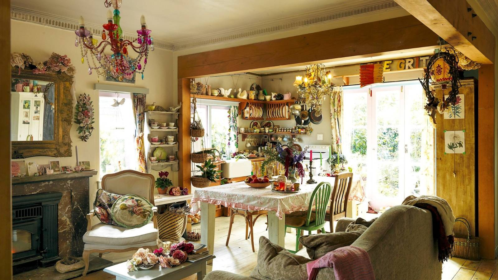 Inside the magical cottage of artist Micky Light