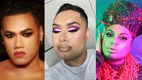 The Māori trio changing the way we think about makeup and masculinity