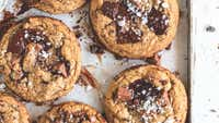 Cloudy Kitchen's small batch chocolate chip cookies